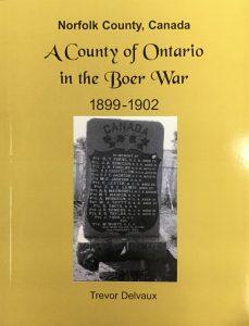History of Norfolk County in the Boer War