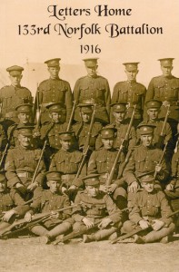 Letters Home: 133rd Norfolk Battalion 1916
