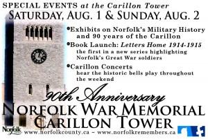 Carillon Tower 90th Anniversary